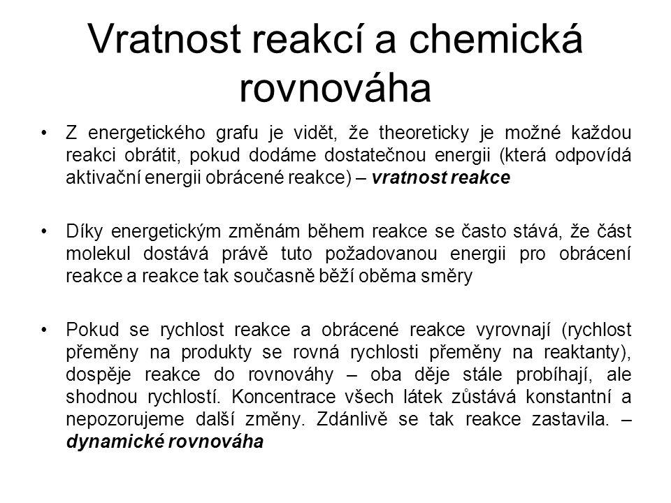 Vratnost reakcí a chemická rovnováha