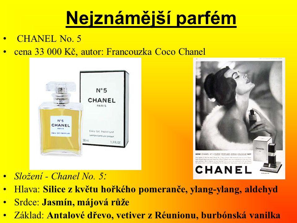 Nejznámější parfém CHANEL No. 5