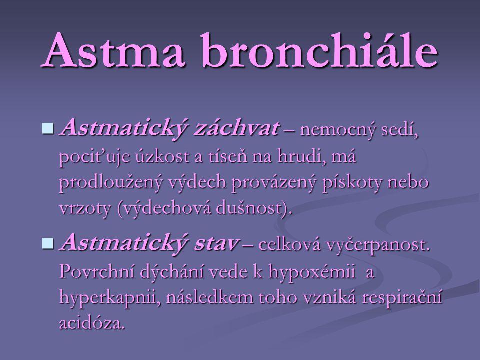 Astma bronchiále