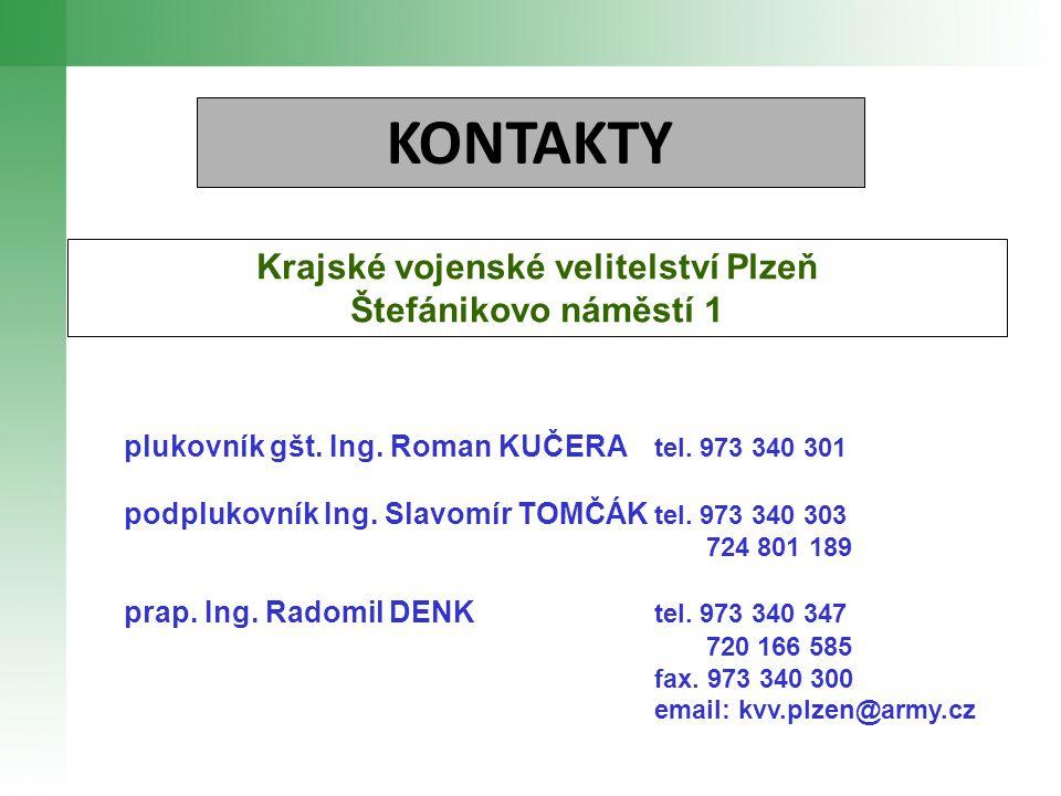 Krajské vojenské velitelství Plzeň
