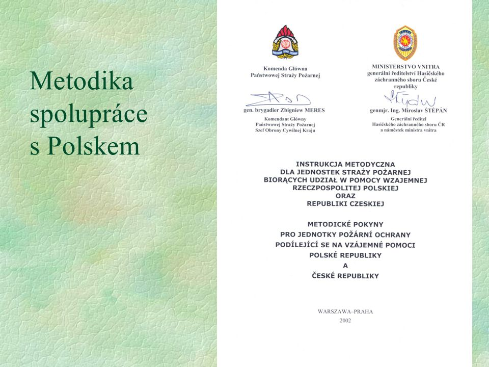 Metodika spolupráce s Polskem