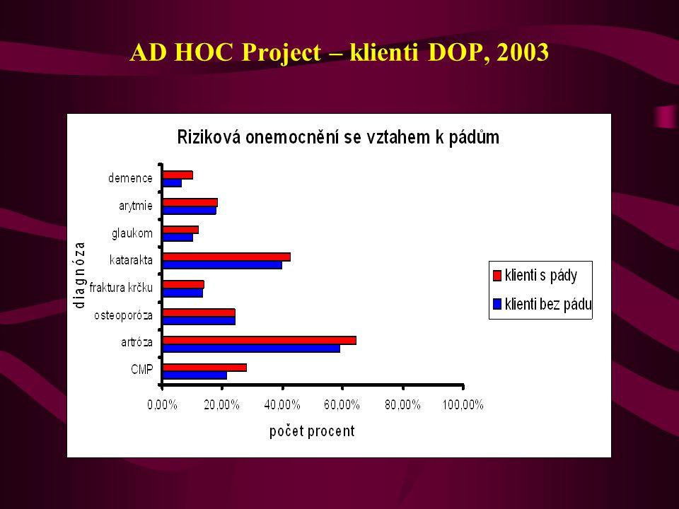 AD HOC Project – klienti DOP, 2003