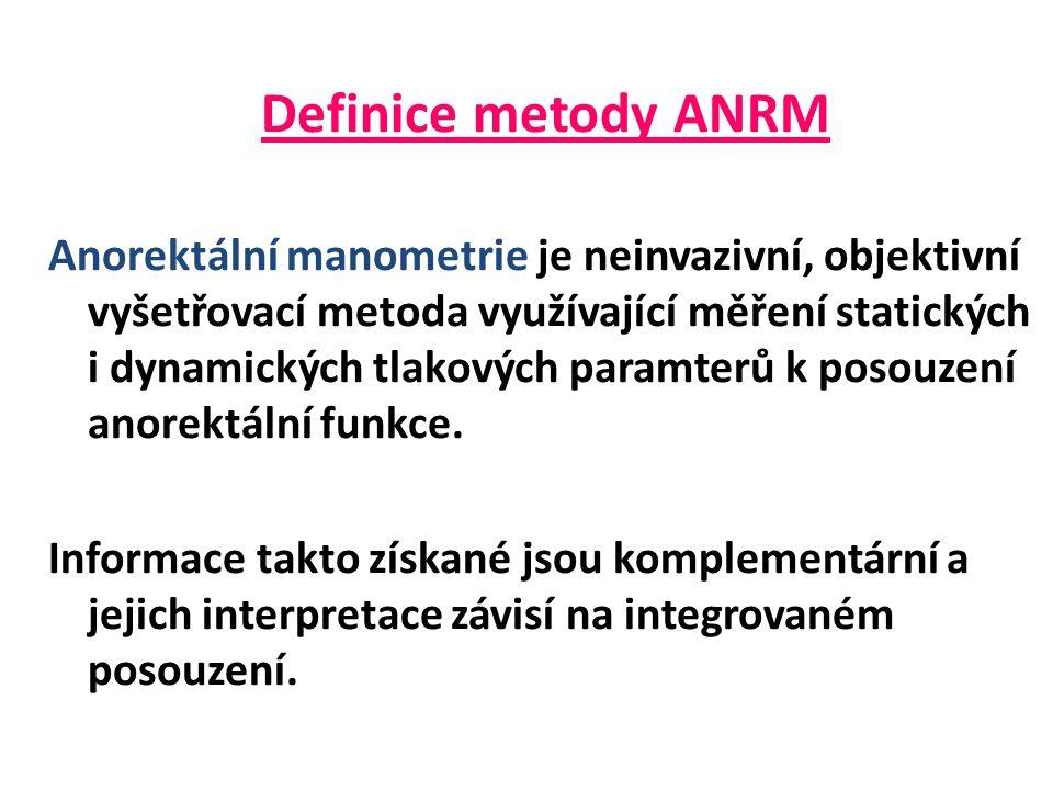 Definice metody ANRM