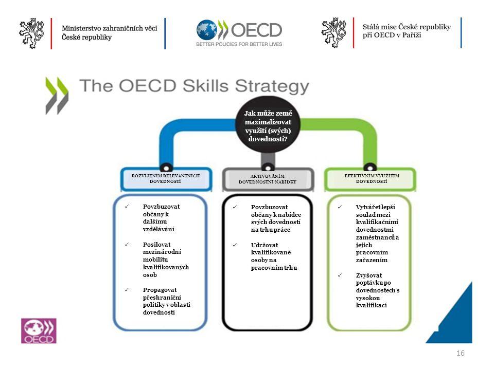 Jak může země maximalizovat využití (svých) dovedností