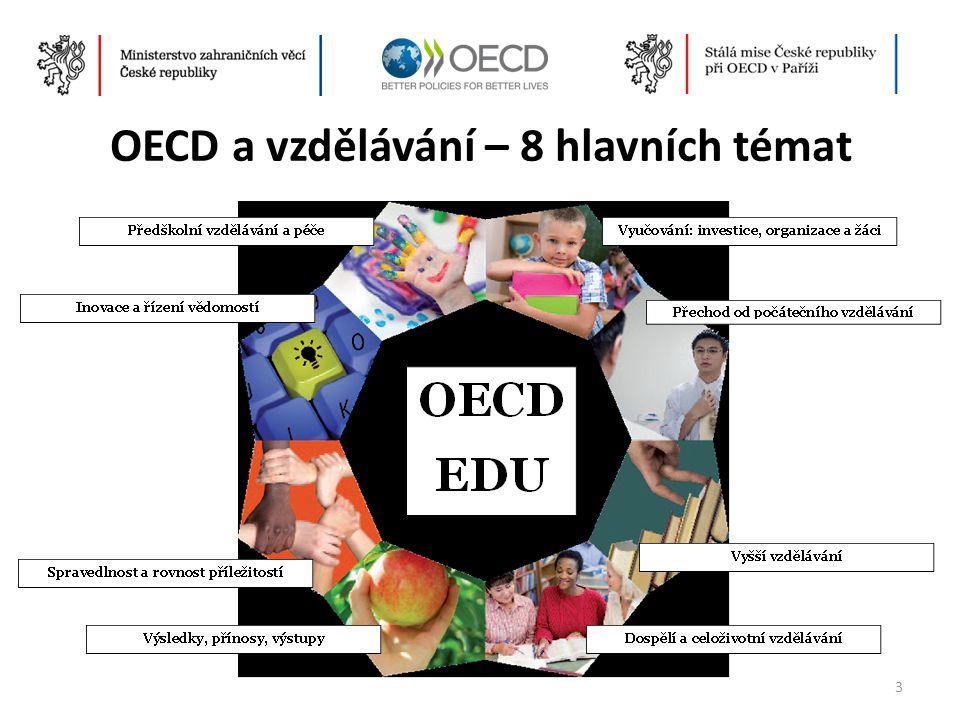 OECD a vzdělávání – 8 hlavních témat