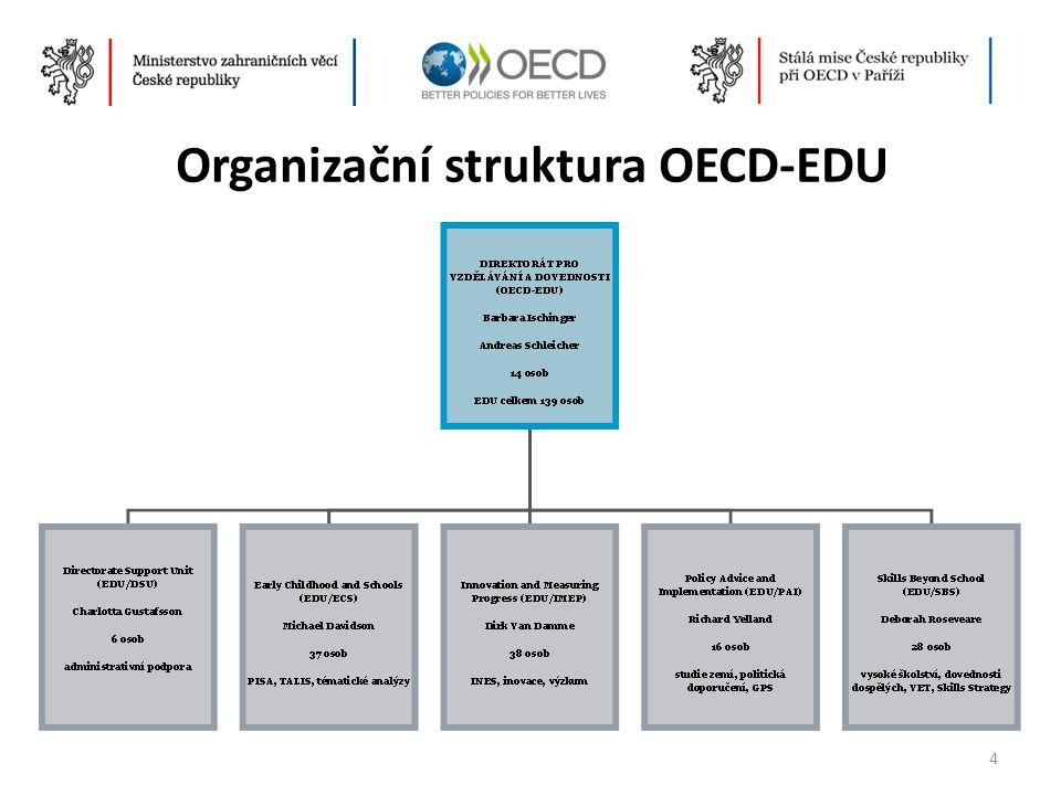 Organizační struktura OECD-EDU