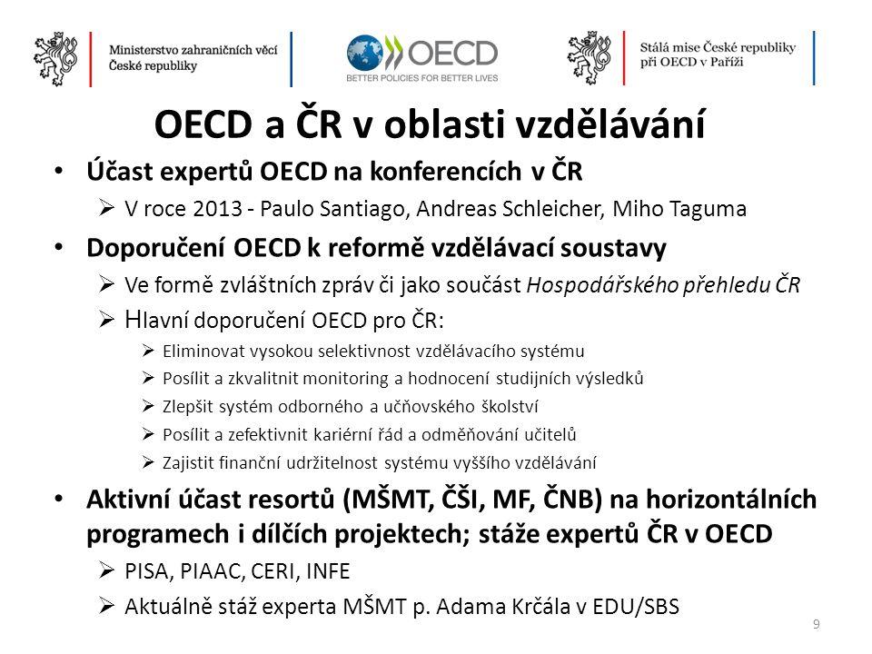 OECD a ČR v oblasti vzdělávání