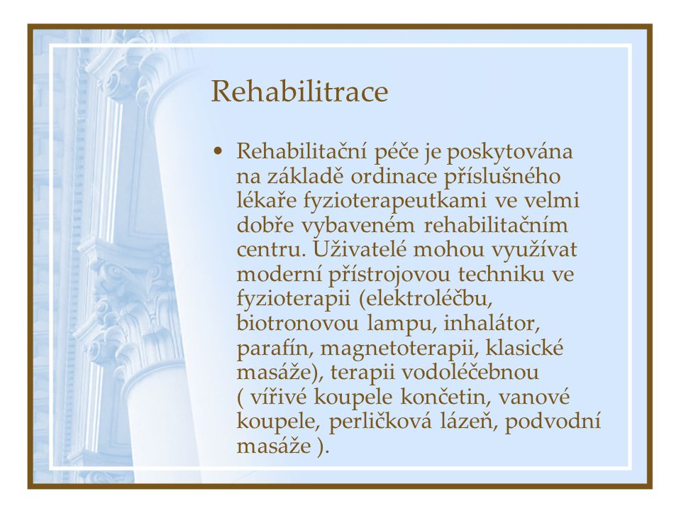Rehabilitrace