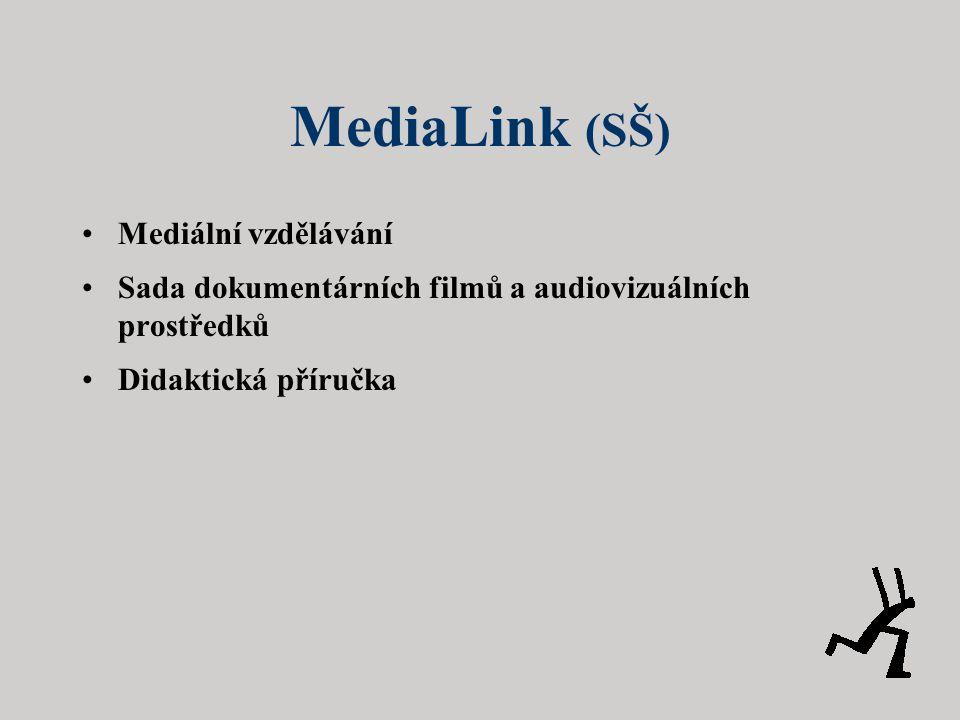 MediaLink (SŠ) Mediální vzdělávání