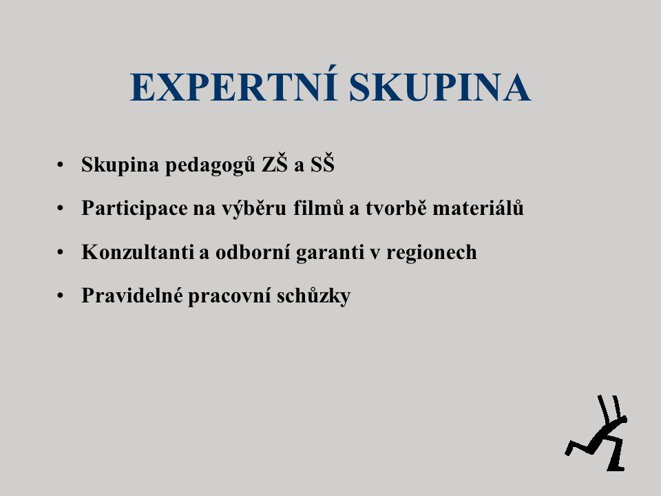 EXPERTNÍ SKUPINA Skupina pedagogů ZŠ a SŠ
