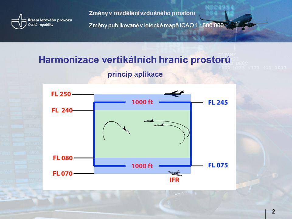 Harmonizace vertikálních hranic prostorů
