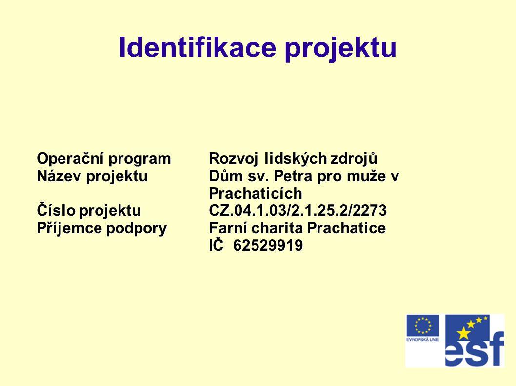 Identifikace projektu
