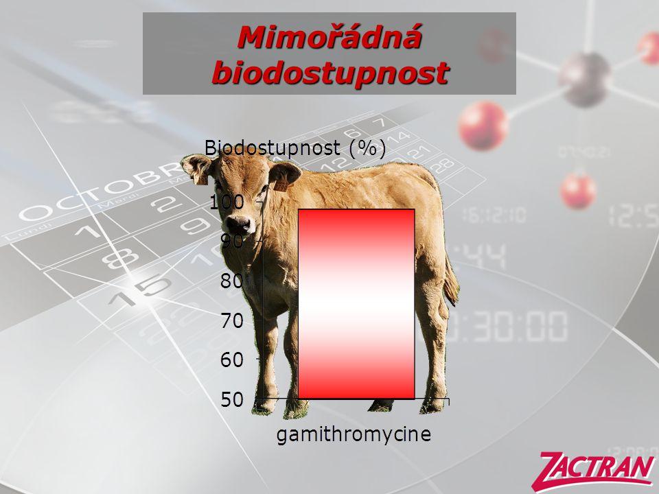 Mimořádná biodostupnost