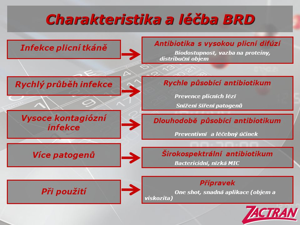 Charakteristika a léčba BRD