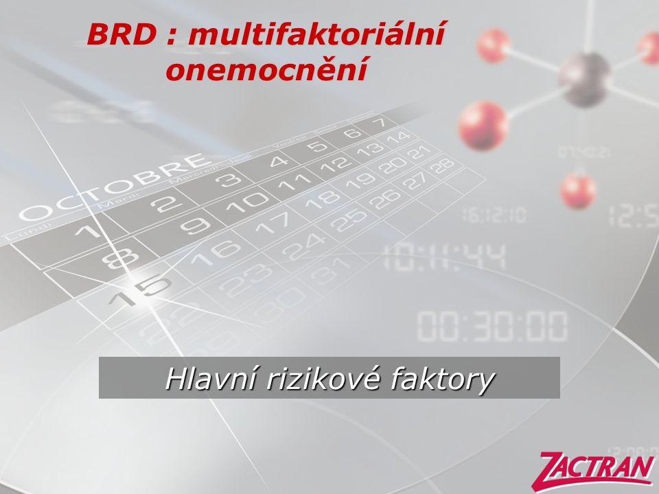 BRD : multifaktoriální onemocnění
