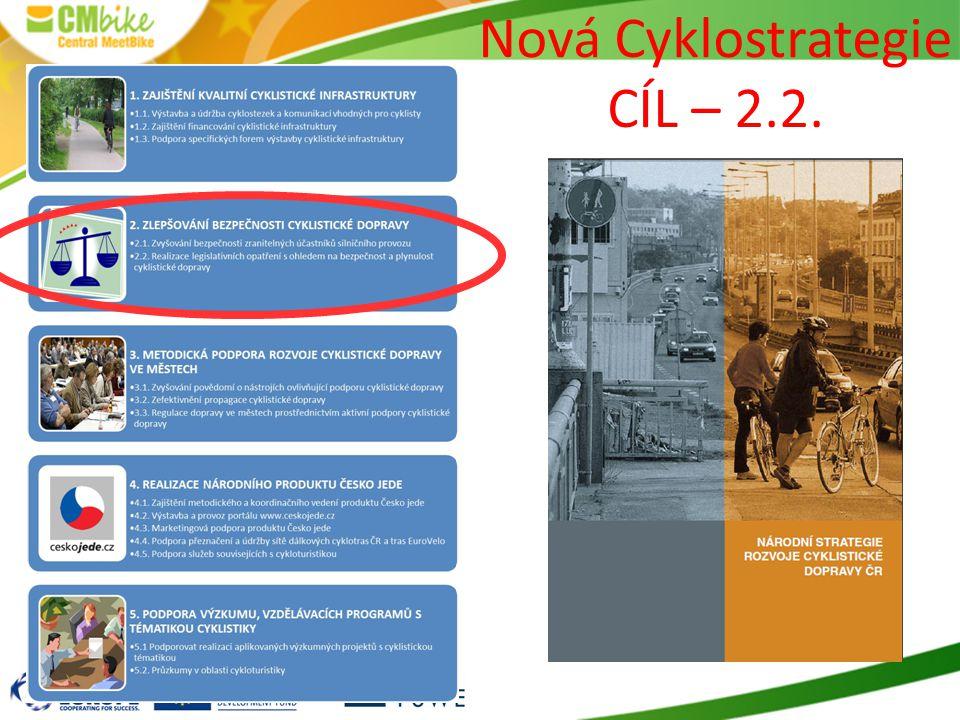 Nová Cyklostrategie CÍL – 2.2.