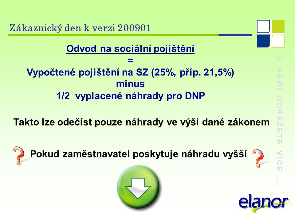 Odvod na sociální pojištění =