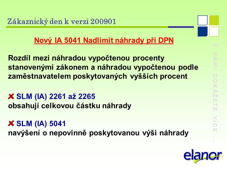 Nový IA 5041 Nadlimit náhrady při DPN