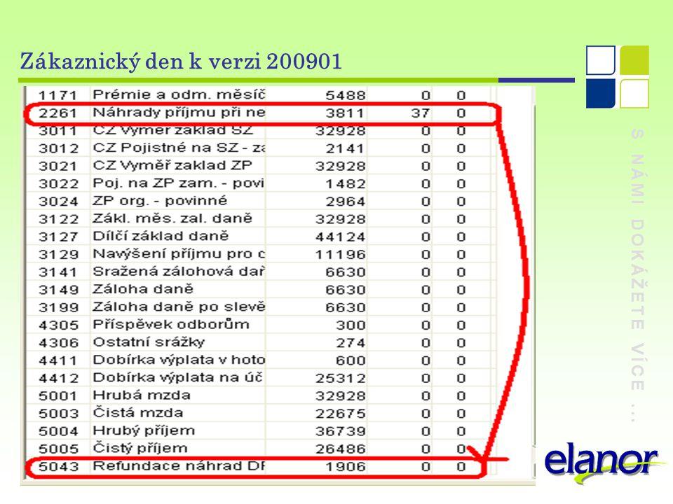 Zákaznický den k verzi 200901 S NÁMI DOKÁŽETE VÍCE ...