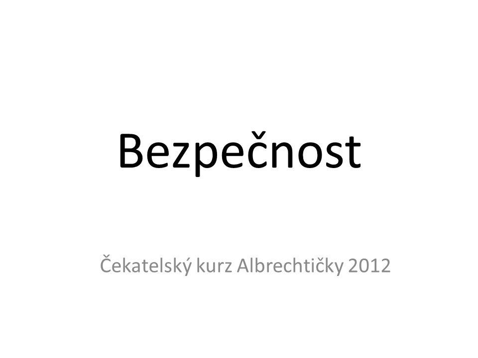 Čekatelský kurz Albrechtičky 2012