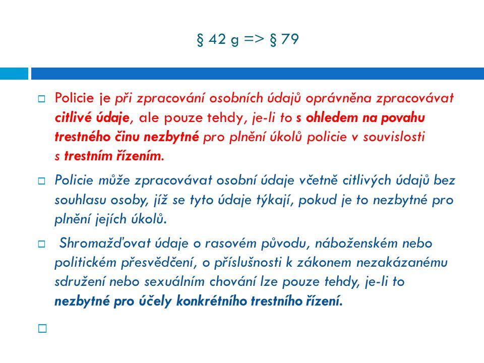 § 42 g => § 79