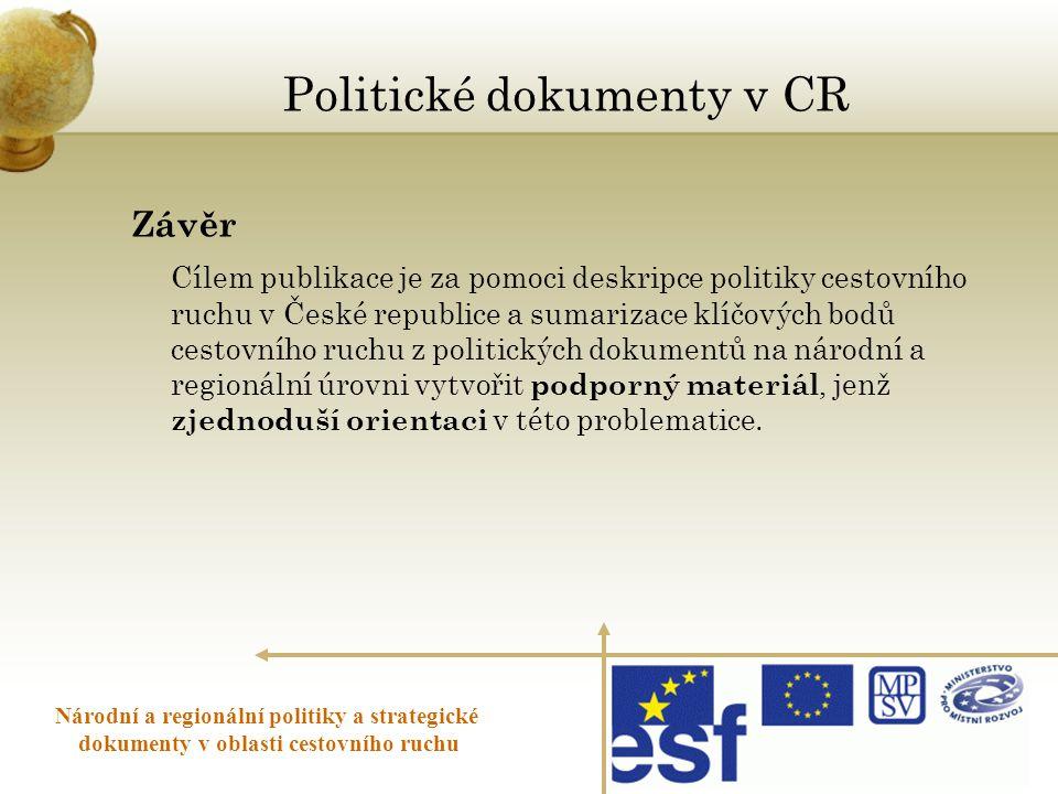 Politické dokumenty v CR