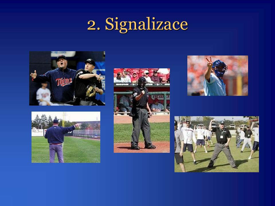 2. Signalizace