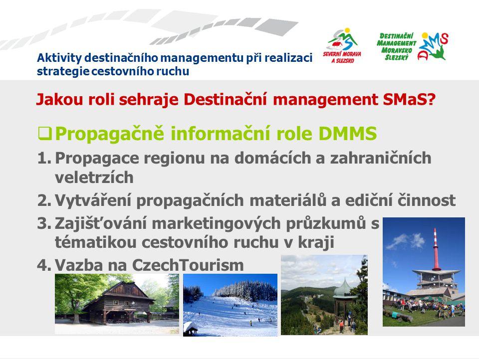 Jakou roli sehraje Destinační management SMaS