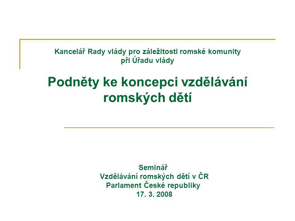 Kancelář Rady vlády pro záležitosti romské komunity při Úřadu vlády