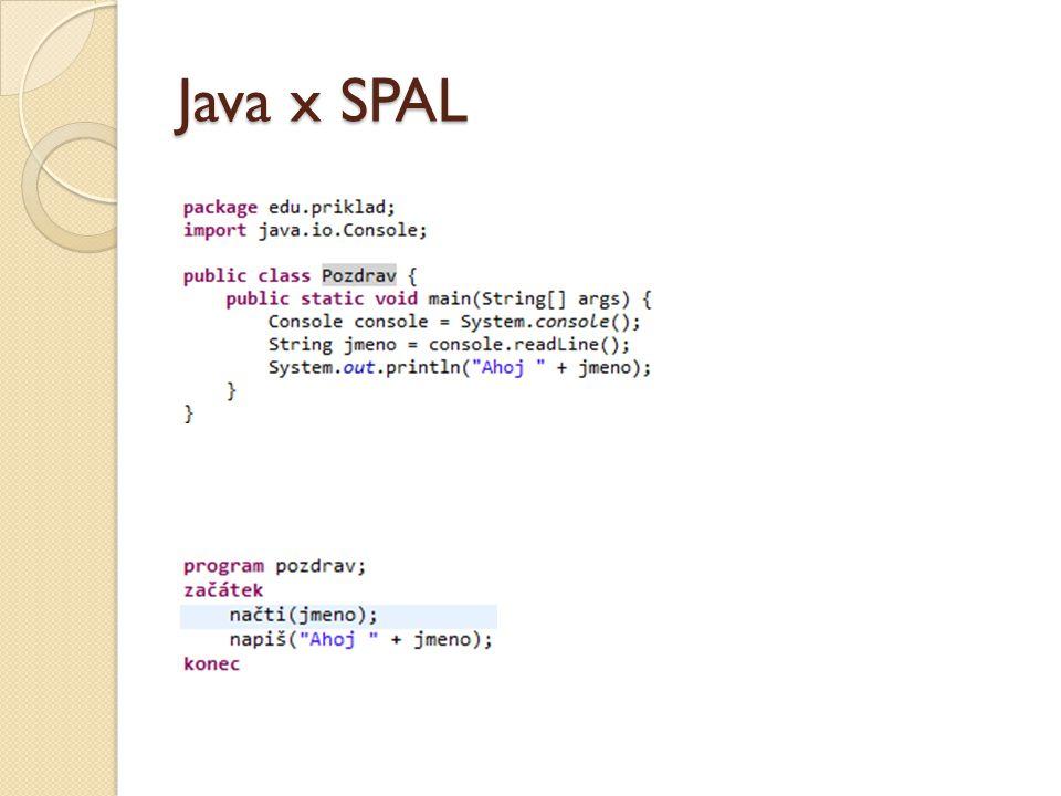 Java x SPAL