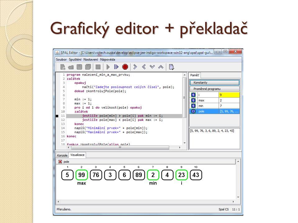 Grafický editor + překladač