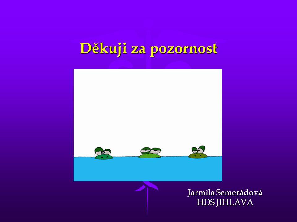Jarmila Semerádová HDS JIHLAVA