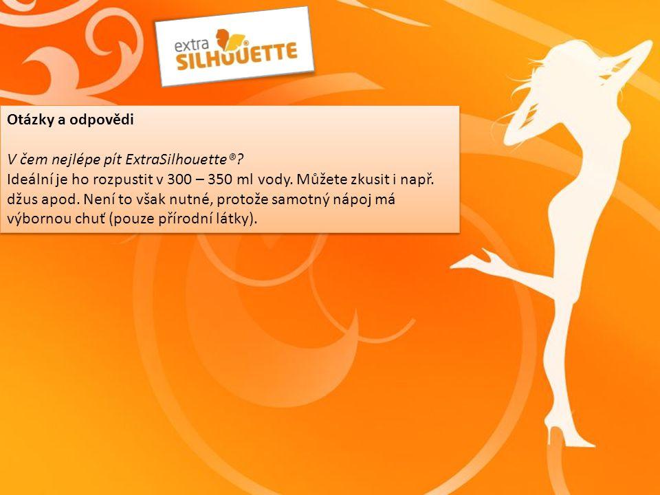 Otázky a odpovědi V čem nejlépe pít ExtraSilhouette®