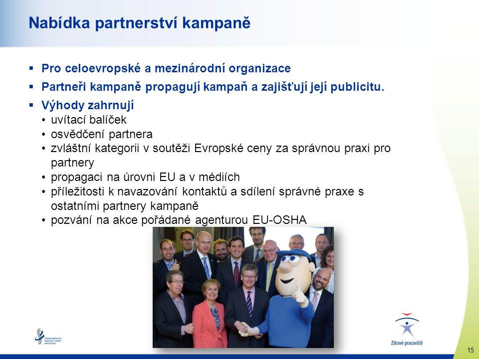 Nabídka partnerství kampaně
