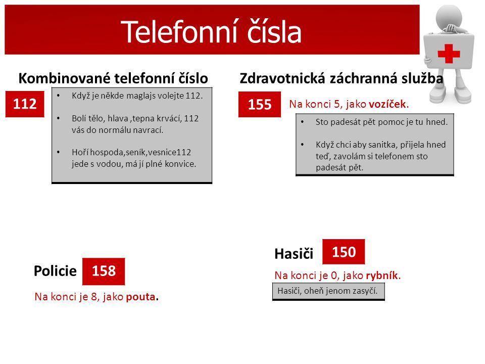 Telefonní čísla Kombinované telefonní číslo