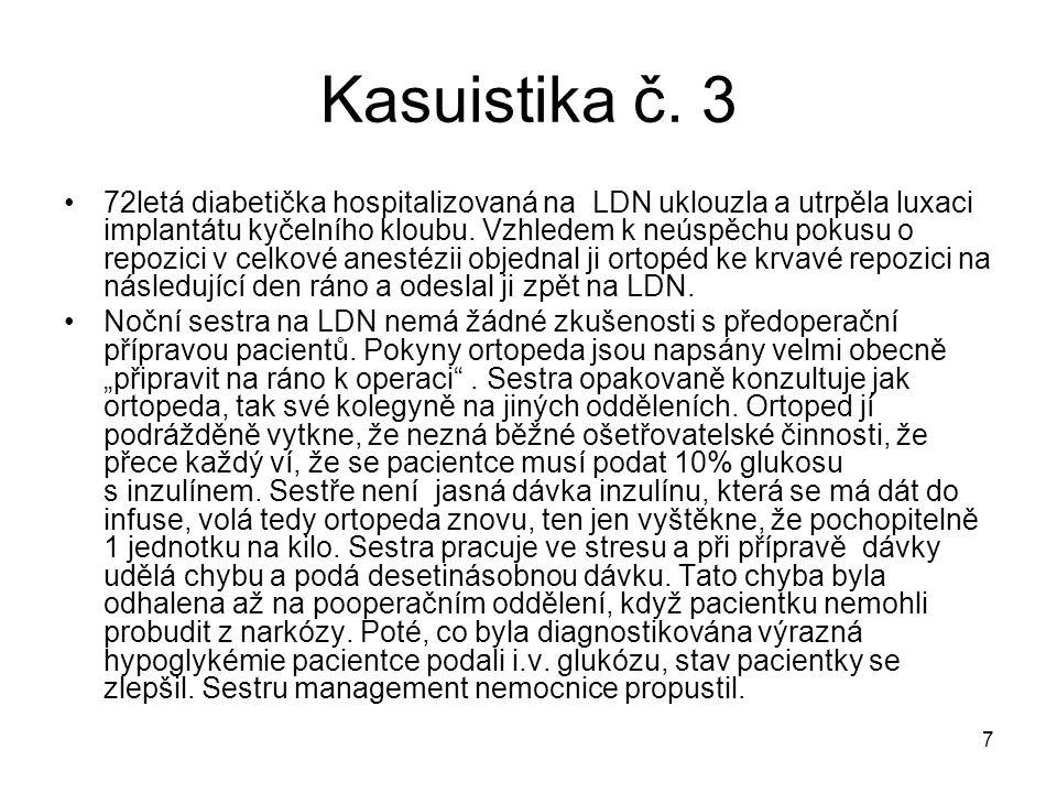 Kasuistika č. 3
