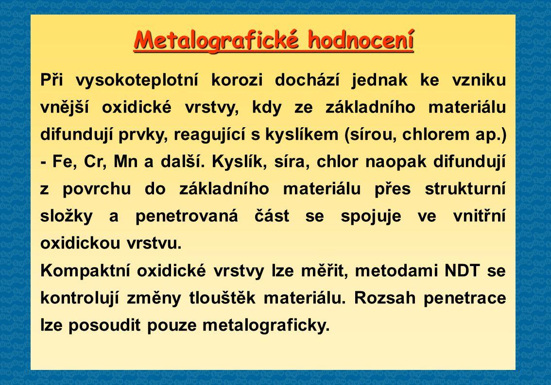 Metalografické hodnocení
