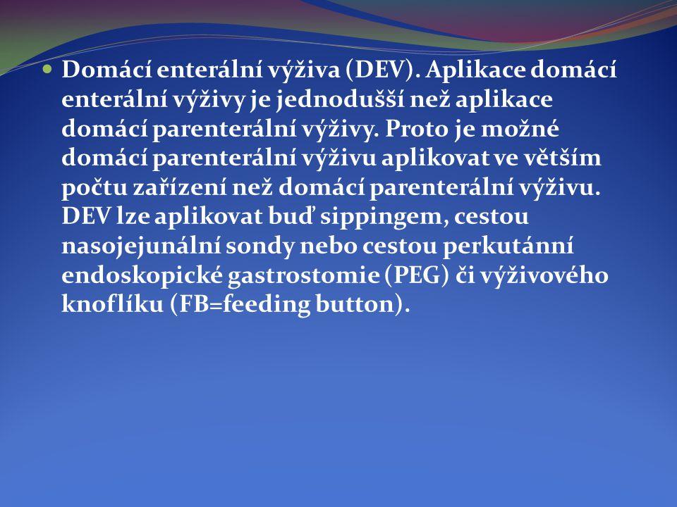 Domácí enterální výživa (DEV)