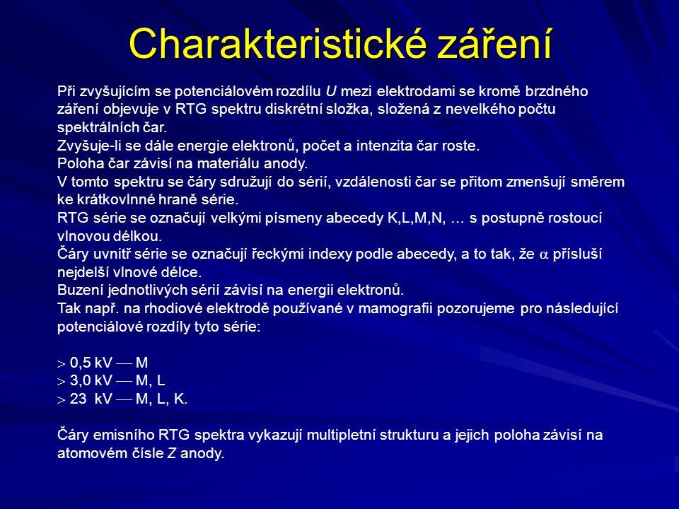 Charakteristické záření