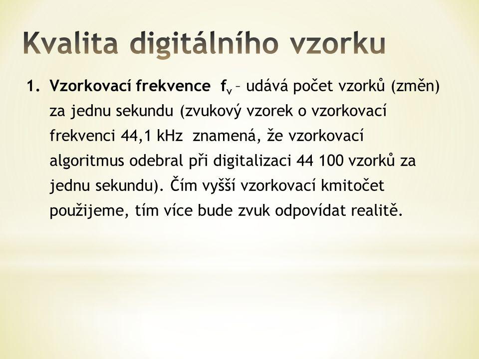 Kvalita digitálního vzorku