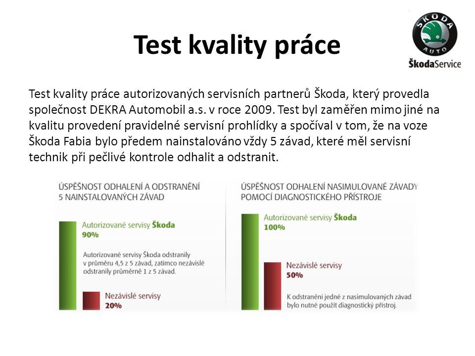 Test kvality práce