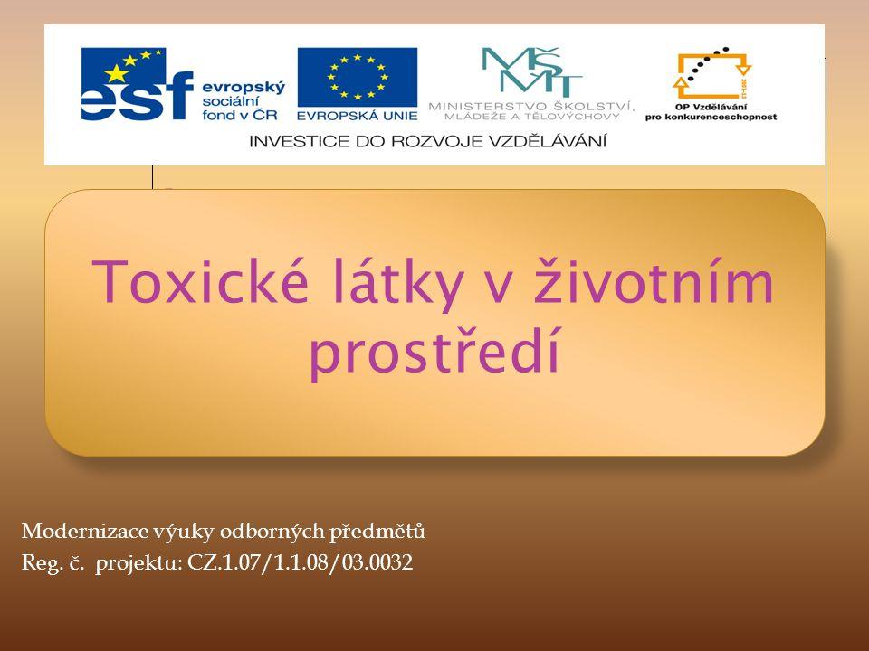 Toxické látky v životním prostředí