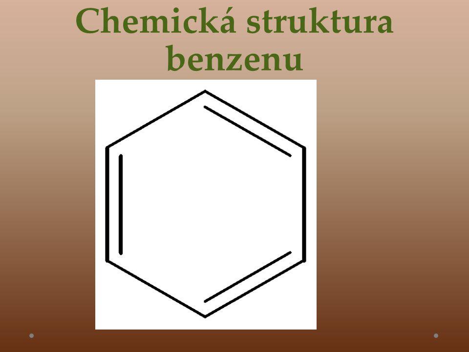 Chemická struktura benzenu