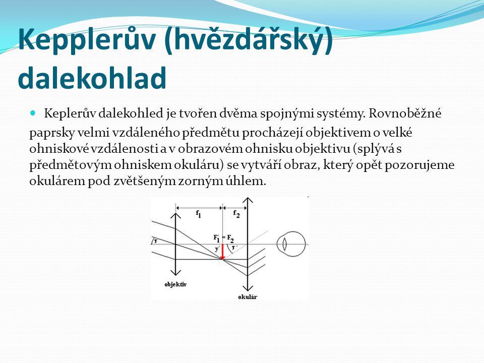 Kepplerův (hvězdářský) dalekohlad