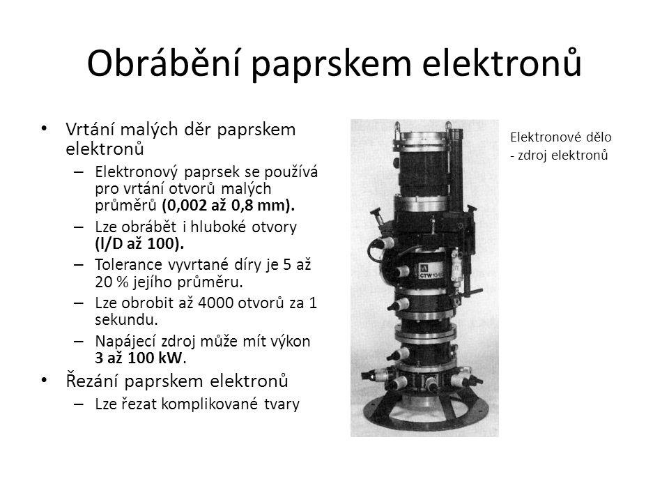 Obrábění paprskem elektronů