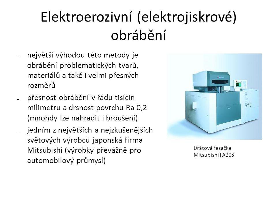 Elektroerozivní (elektrojiskrové) obrábění