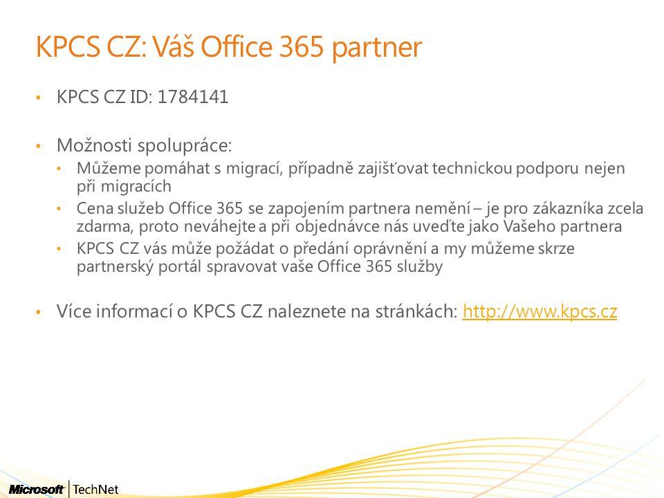 KPCS CZ: Váš Office 365 partner