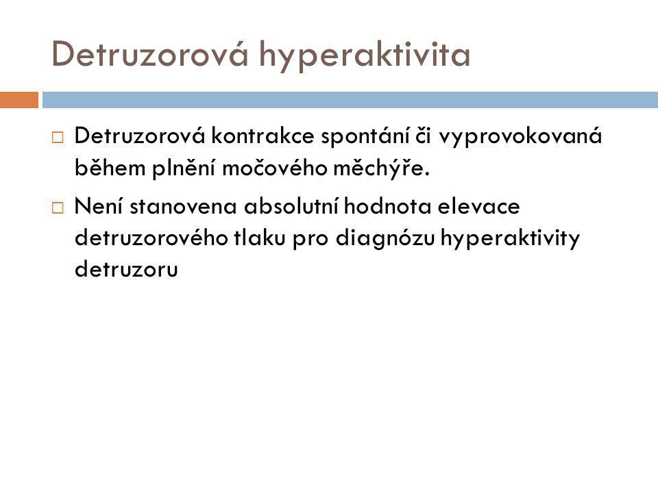 Detruzorová hyperaktivita