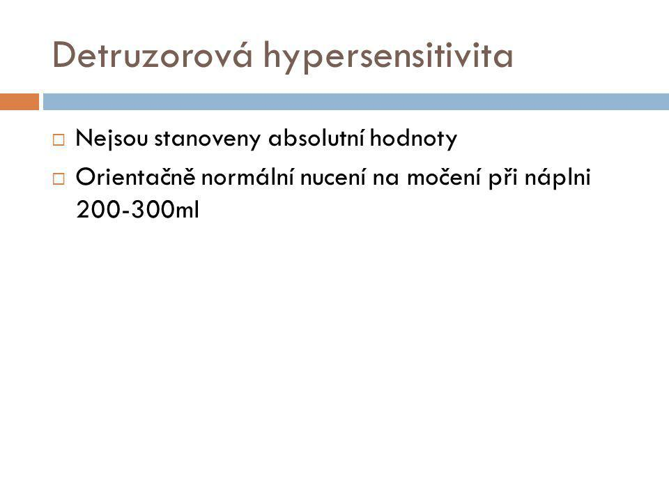 Detruzorová hypersensitivita