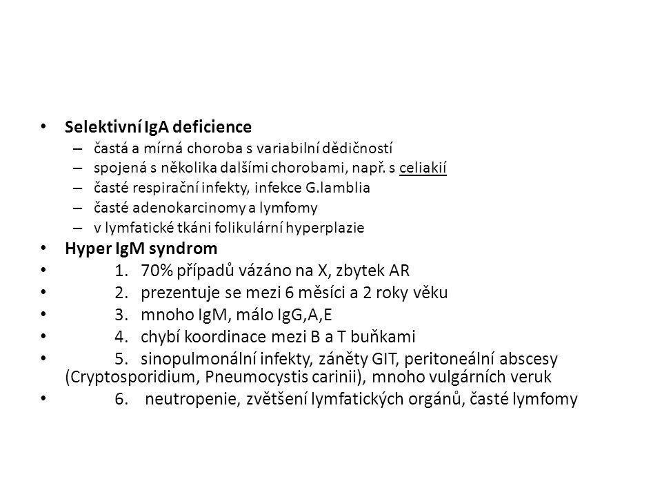 Selektivní IgA deficience